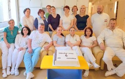 Štvrté výročie chirurgickej jednodňovej zdravotnej starostlivosti v Handlovej