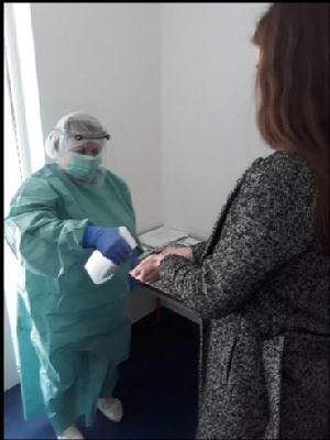 V handlovskej nemocnici pribudli nové opatrenia v súvislosti s koronavírusom COVID-19