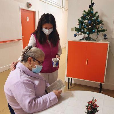 Zdravotníci na Oddelení dlhodobo chorých spríjemňujú pacientom vianočné obdobie