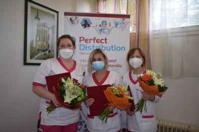 Handlovská nemocnica ocenila svoje sestry. Pandémia ukázala, že povolanie sestry je jedno z najdôležitejších